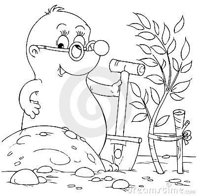 naked mole rat coloring pages - photo#49