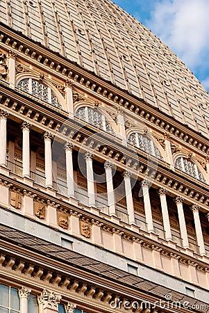 Mole Antonelliana detail, Torino
