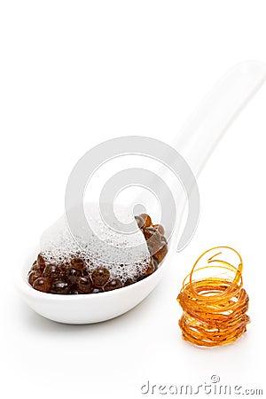 Molecular gastronomy - coffee