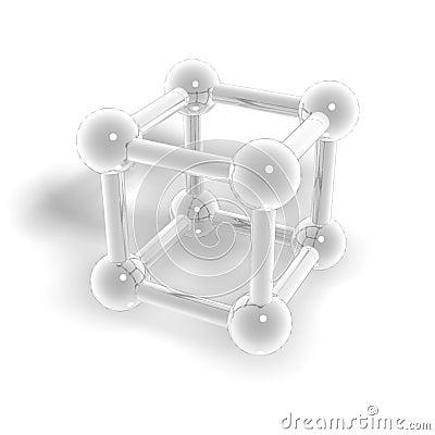 Molecular a geometrical figure