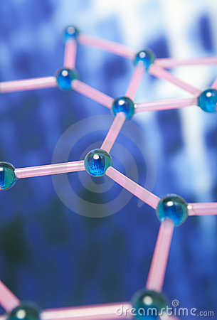 Free Molecular Structure Stock Photo - 19497820