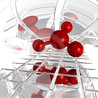 Free Molecule Stock Image - 17323711
