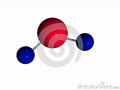 Molecule - water - H2O
