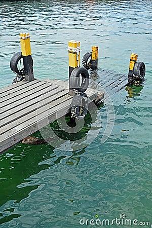 Molhe em Semporna Sabah Borneo Malaysia