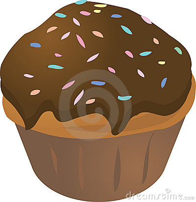 Mollete del cupcake