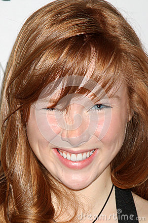 Molly C. Quinn arrives at the  An Evening With Castle  Editorial Stock Photo