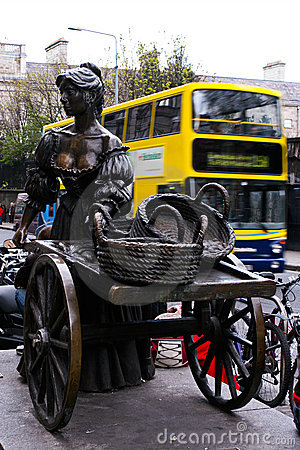Molly Malone Editorial Stock Image