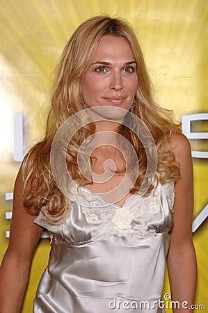 Molly Sims Editorial Stock Photo