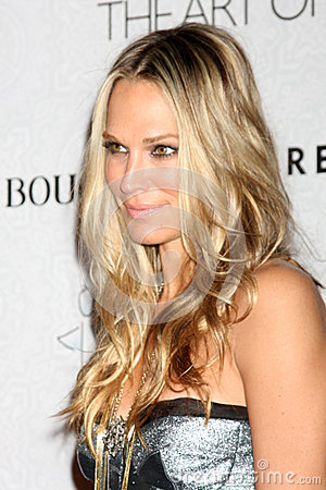 Molly Sims Editorial Stock Image