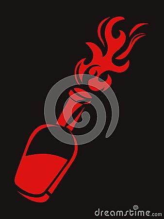 Molotov stencil