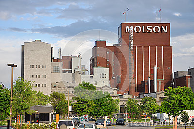 Molson Coors Brewing Company, Montreal Editorial Stock Image