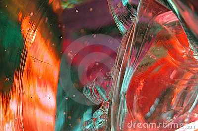 Molten Glass Abstract 9