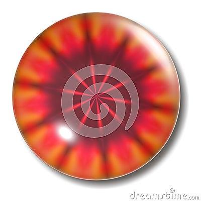 Molten Lava Button Orb