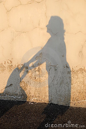 Mom s silhouette