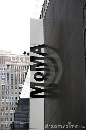 MoMa. New York Editorial Image