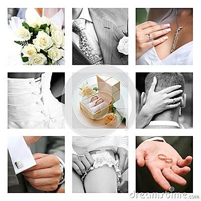 Momentos do casamento