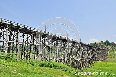 Mon bridge at Sangklaburi