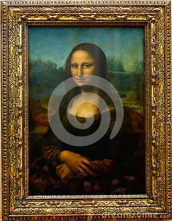 Free Mona Lisa- Paris Stock Photos - 53806913