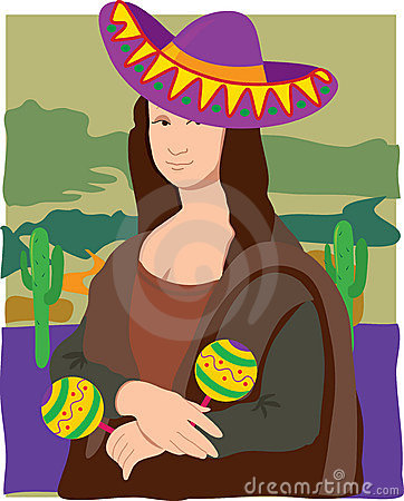 Mona Lisa Sombrero