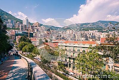 Monaco Editorial Photo