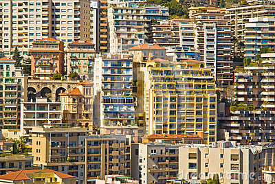 Monaco apartment buildings