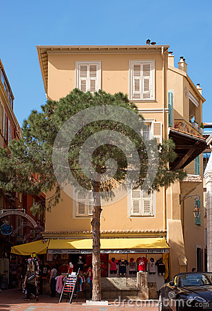 Monaco - Architecture of buildings Editorial Photography