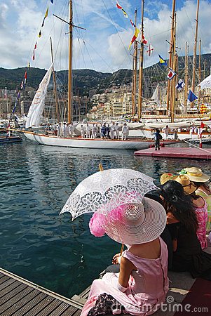 Monaco Classic Week 2009 Editorial Image