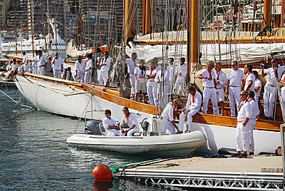 Monaco Classic Week 2009 Editorial Stock Image
