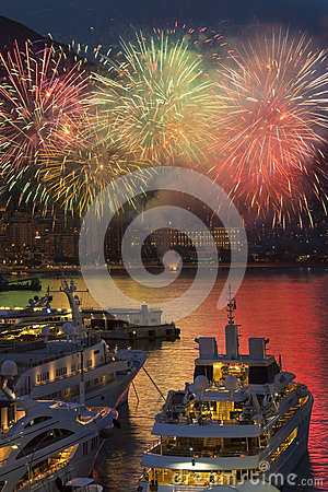 Monaco - French Riviera - Firework Display