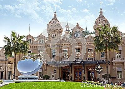 Monaco - Grand Casino Editorial Photography