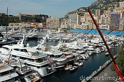 Monaco during the Grand Prix 2009 Editorial Image