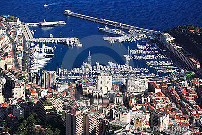 Monaco harbor, French Riviera