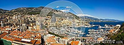 Monaco Monte Carlo Editorial Stock Image