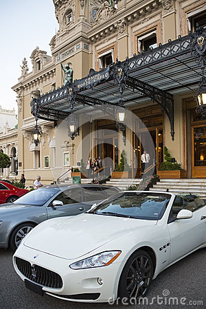 Monaco - Monte Carlo Casino Editorial Photography