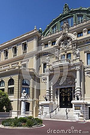 Monaco - Monte Carlo Casino Editorial Photo