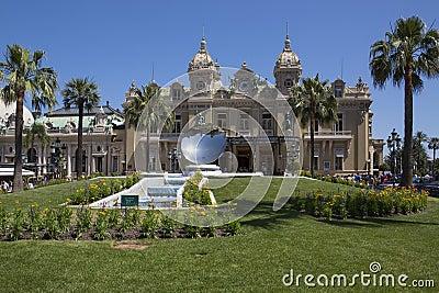 Monaco - Monte Carlo Casino  Editorial Photography