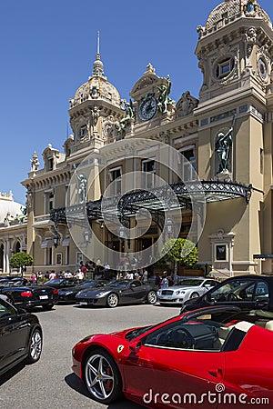 Monaco - Monte Carlo Casino Editorial Stock Image