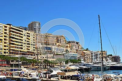 Monaco Editorial Image