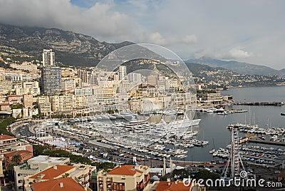 Monaco and Monte-Carlo view
