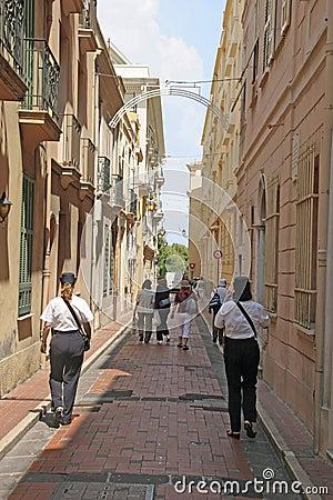 Monaco Police Patrol Editorial Stock Photo