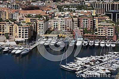 Monaco - Port of Fontvieille