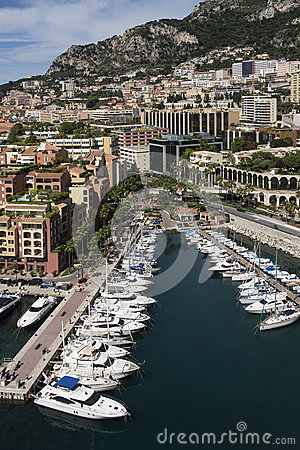 Monaco - Port of Fontvieille