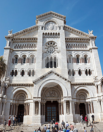 Monaco - Saint Nicholas Cathedral Editorial Photo