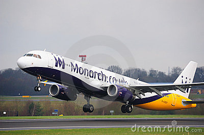 Monarch Airbus A321 Editorial Photo
