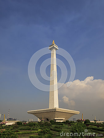 Monas, Indonesia National Monument in Jakarta