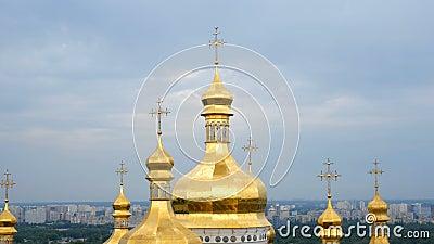 Monast?rio crist?o ortodoxo E video estoque