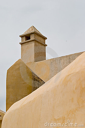 Monastary wall and tower