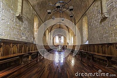 Monastero della sala da pranzo della santa maria de poblet for Pianta della sala da pranzo