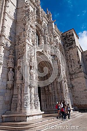 Monastero dos Jerónimos Editorial Image