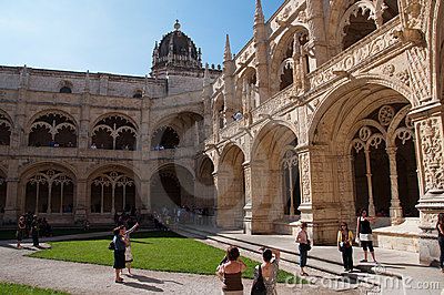 Monastero dos Jerónimos Editorial Photo